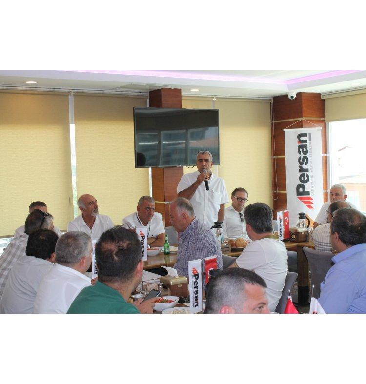 Persan 24 Temmuz Türkiye Bayi Toplantısı Gerçekleştirildi